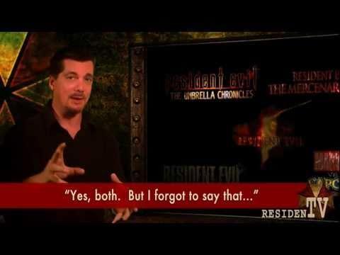 Resident Evil Fans Interview D.C. Douglas