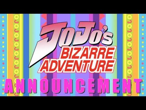 "Jojo""s Bizarre Adventure Announcement!"