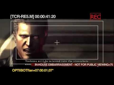 D.C. Douglas as Albert Wesker RE5 Outtakes
