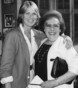 Sharon Gless and Estelle Harman