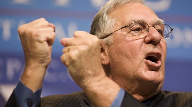 Dick Armey Testicle Gesture