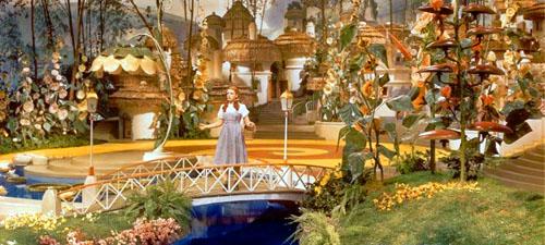 Wizard of Oz depicting voiceover wonder