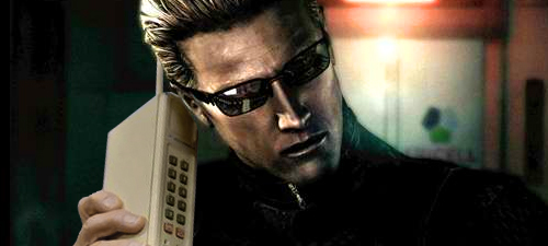 Albert Wesker Answers Your Phone For Charity