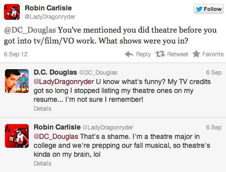 theatre-tweet