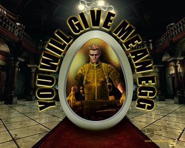 Wesker - You Will Give Me An Egg - Autograph
