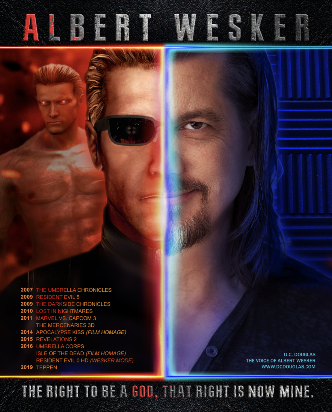 Wesker 25th Anniversary Autograph